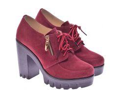 Женские туфли For Style 1042бордоз