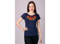 Вышиванка женская футболка LVF-2