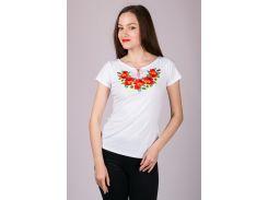 Вышиванка женская футболка LVF-4