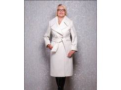 Пальто женское Д 38 Люкс белое евро