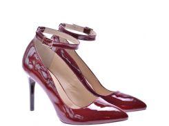 Женские туфли For Style 1001бордол
