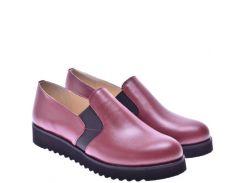 Женские туфли For Style 1005бордо