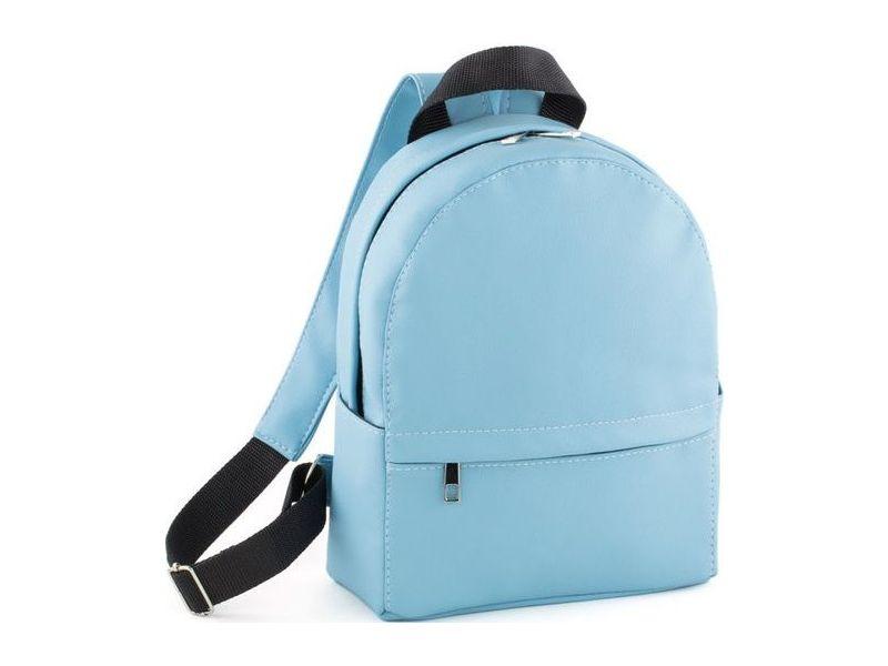 Компактная и стильная голубая модная женская сумка-рюкзак купить ... 6fd8cad8367