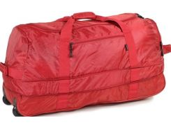 Members Foldaway Wheelbag 105/123 Red