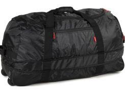 Members Foldaway Wheelbag 105/123 Black