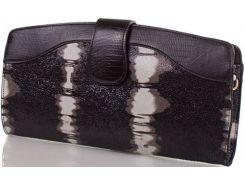 Необыкновенно красивый двухсторонний кожаный клатч