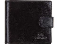 Универсальное черное кожаное портмоне с отделением для автодокументов