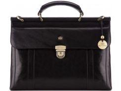 Стильный кожаный портфель, подчеркивающий имидж делового человека