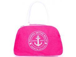 Замечательная розовая спортивно-повседневная сумка-саквояж