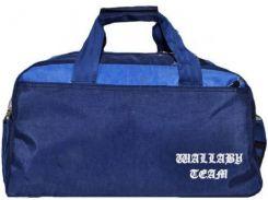Стильная синяя спортивно-дорожная сумка