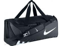 Стильная и вместительная спортивная черная сумка для тренировок и путешествий