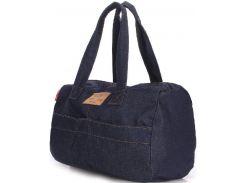 Синяя спортивно-повседневная джинсовая сумка