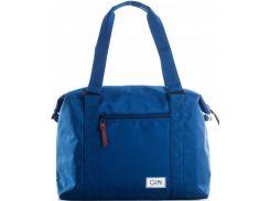 Синяя неви сумка для коротких поездок или посещения спортзала