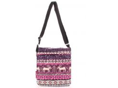 Оригинальная стеганая женская сумочка-планшет с принтом северных узоров
