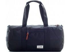 Удобная и вместительная спортивно-дорожная сумка черного цвета