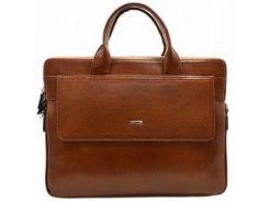 Современная рыжая кожаная сумка-портфель Desisan 1348 флоатар