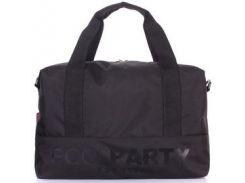 Черная сумка POOLPARTY Swag из водонепроницаемого полиэстера в спортивном стиле
