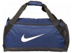 Спортивная синяя сумка Nike NK BRSLA M DUFF