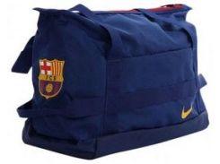 Синяя спортивная сумка  Nike NK STADIUM FCB DUFF