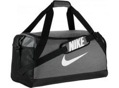 Универсальная серая спортивная сумка с вентилируемым отделением для обуви