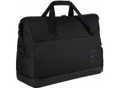 Очень вместительная и удобная черная спортивная сумка