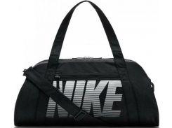 Спортивная черная сумка из прочной водоотталкивающей ткани