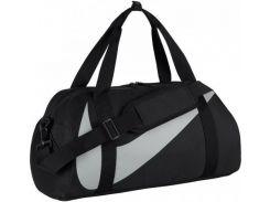 Удобная и вместительная черная спортивная сумка