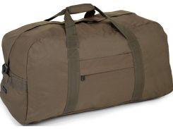 Надежная дорожно-спортивная сумка цвета хаки