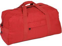 Яркая стильная красная дорожно-спортивная сумка