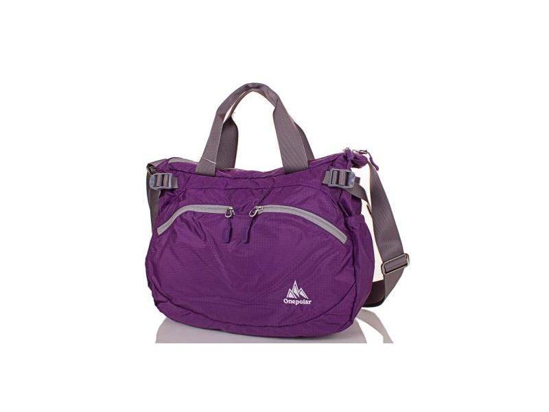 1c2e1c0693f9 Женская спортивная сумка через плечо ONEPOLAR (ВАНПОЛАР) W5220-violet Киев