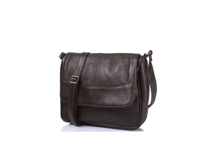 57438096458e Женская кожаная сумка-почтальонка TUNONA (ТУНОНА) SK2416-29 купить ...