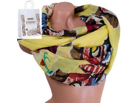 Женский хлопковый шарф 184 на 86 см  ETERNO (ЭТЕРНО) ES0908-2-1 Киев