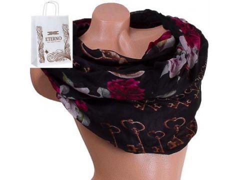 Женский хлопковый шарф 179 на 84 см  ETERNO (ЭТЕРНО) ES0908-3-2 Киев