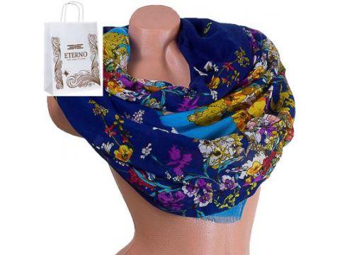 Женский хлопковый шарф 186 на 84 см  ETERNO (ЭТЕРНО) ES0908-4-1 Киев