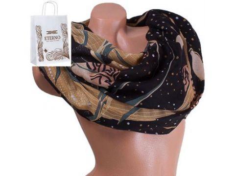 Женский хлопковый шарф 185 на 88 см  ETERNO (ЭТЕРНО) ES0908-6-3 Киев