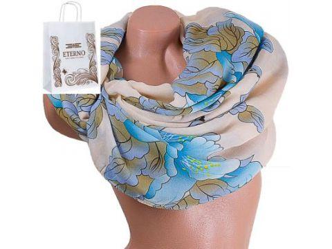 Женский хлопковый шарф 177 на 88 см  ETERNO (ЭТЕРНО) ES0908-8-2 Киев