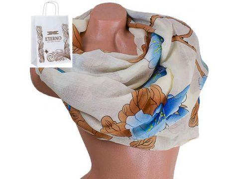 Женский хлопковый шарф 179 на 87 см  ETERNO (ЭТЕРНО) ES0908-8-4 Киев