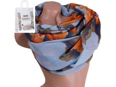 Женский хлопковый шарф 179 на 88 см  ETERNO (ЭТЕРНО) ES0908-8-5 Киев