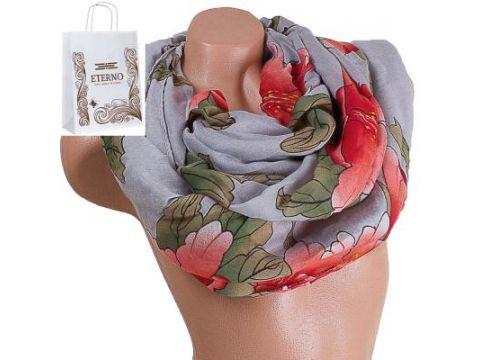 Женский хлопковый шарф 178 на 86 см  ETERNO (ЭТЕРНО) ES0908-8-6 Киев