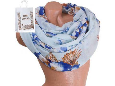 Женский хлопковый шарф 180 на 86 см  ETERNO (ЭТЕРНО) ES0908-9-2 Киев