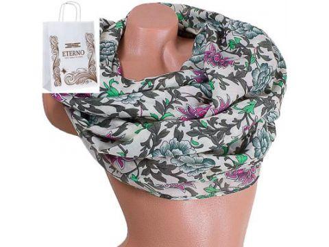 Женский хлопковый шарф 179 на 88 см  ETERNO (ЭТЕРНО) ES0908-10-2 Киев