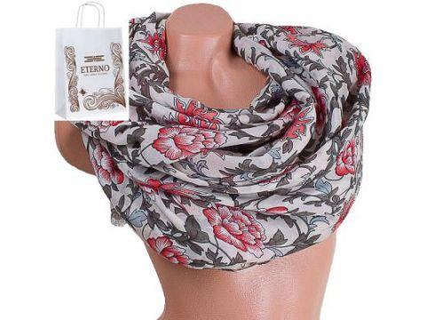 Женский хлопковый шарф 175 на 88 см  ETERNO (ЭТЕРНО) ES0908-10-3 Киев