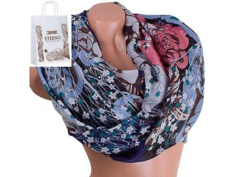 Женский хлопковый шарф 188 на 89 см  ETERNO (ЭТЕРНО) ES0908-11-2 Киев