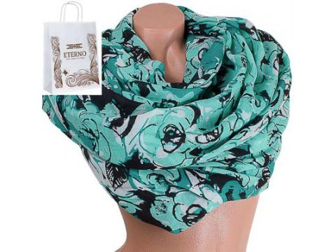 Женский хлопковый шарф 180 на 88 см  ETERNO (ЭТЕРНО) ES0908-13-4 Киев