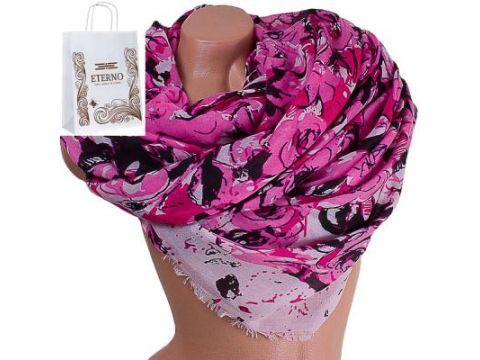 Женский хлопковый шарф 183 на 91 см  ETERNO (ЭТЕРНО) ES0908-13-5 Киев