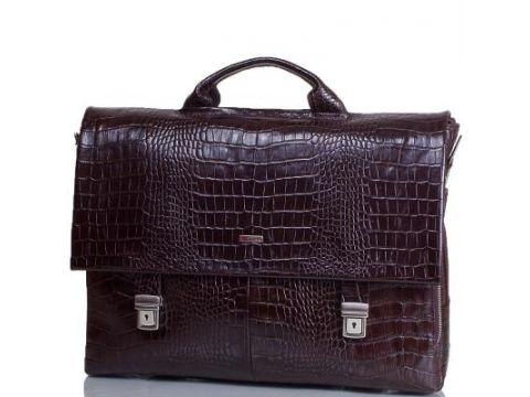 Портфель мужской кожаный с отделением для ноутбука DESISAN (ДЕСИСАН) SHI1315-19-10KR Киев