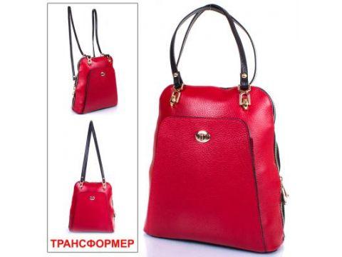 Женская кожаная сумка-рюкзак DESISAN (ДЕСИСАН) SHI3132-4 Киев