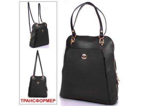 Женская кожаная сумка-рюкзак DESISAN (ДЕСИСАН) SHI3132-011 Киев