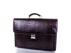 Кожаный мужской портфель DESISAN (ДЕСИСАН)
