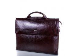 Кожаный мужской портфель с отделением для ноутбука DESISAN (ДЕСИСАН)